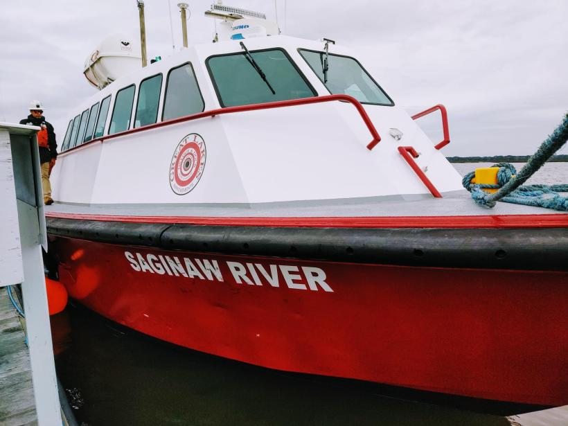 The Miss Saginaw River